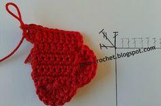José Crochet: Free crochet pattern heart ♥