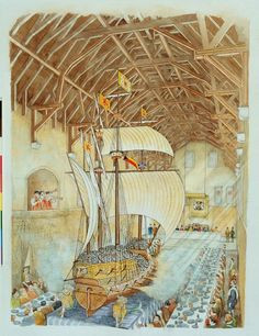 Here's a personal favourite: One of the most extravagant feasts at Stirling Castle was put on to celebrate the baptism of James VI's son, Henry. A fully-rigged, 5m-long ship with 36 brass guns was wheeled in to serve the fish course!