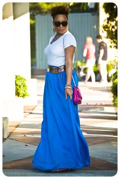 What I'm Wearing | Weekend Maxi! | Erica B.'s - D.I.Y. Style!