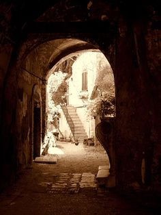 Courtyard, Civita Castellana, Viterbo