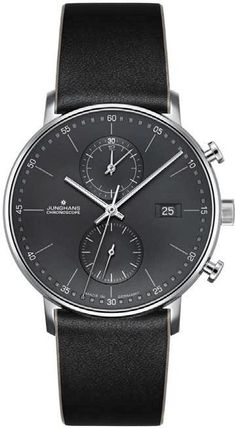 Junghans Watch Form C Pre-Order #add-content #basel-18 #bezel-fixed #bracelet-strap-leather #brand-junghans #case-material-steel #case-width-39mm #chronograph-yes #cws-upload #date-yes #delivery-timescale-call-us #dial-colour-black #discount-code-allow #gender-mens #luxury #movement-quartz-battery #new-product-yes #official-stockist-for-junghans-watches #packaging-junghans-watch-packaging #pre-order #pre-order-date-30-04-2018 #preorder-april #style-dress #subcat-form…