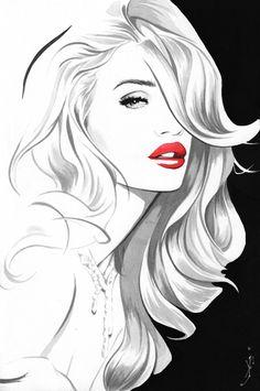 """""""Rosie"""" Art Print by Kenneth J. Franklin"""