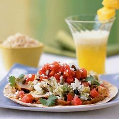 Chris Powell's Chicken Tostadas