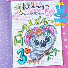 Slam Book, Jojo Siwa Birthday, Notebook Art, Quilling Paper Craft, Bullet Journal Art, Tombow, Brush Pen, Cute Designs, Art Decor