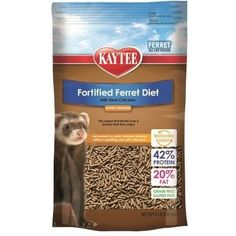 SMALL ANIMAL - FOOD - FERRET FORTIFIED DIET CHICKEN - 4LB - CENTRAL - KAYTEE PRODUCTS, INC - UPC: 71859995311 - DEPT: SMALL ANIMAL PRODUCTS