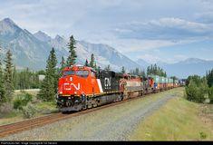RailPictures.Net Photo: CN 2819 Canadian National Railway GE ES44AC at Jasper, Alberta, Canada by Tim Stevens