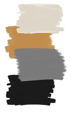 Room Color Schemes, Room Colors, Colours, Colour Pallete, Color Combos, Pintura Exterior, Exterior House Colors, Paint Colors For Home, Colour Board