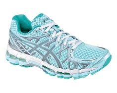 Not that I run at night too much, but these glow in the dark!!! ASICS GEL-Kayano 20 Lite-Show Running Shoe