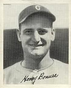 75465d34f9 1936 Goudey  2 Henry Bonura Front · My DadBaseball ...