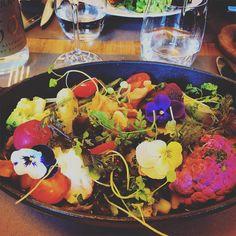 Bon appétit! 🌸 #lunch #bibent #chef #christianconstant #frenchcuisine