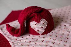 Layering Set Newborn Photography Prop Upcycled Hat, 2 Upcycled Layers Newborn Photography Prop