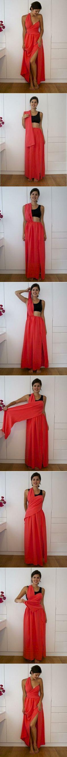 diy, no, sew, dress