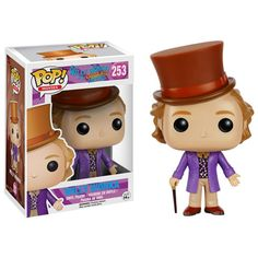 Willy Wonka Pop! Vinyl Figure - Funko - Charlie and the Chocolate Factory - Pop! Vinyl Figures at Entertainment Earth http://amzn.to/2luw5mX