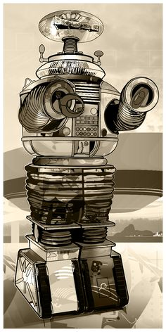 B-9 robot by Tulio Fagim