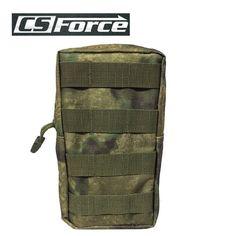 CS Force 600D Molle Utility Sports Modular Accessory Pouch Paintball Hunting Vest Hang Bag Portable Waist Bag A-TACS FG $