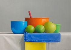 "Gallery Henoch - Janet Rickus, Still Life for E.K., Oil on Canvas, 14"" x 20"""
