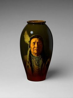 Vase  Designed by William Purcell McDonald (1865–1931)  Manufacturer: Manufactured by Rookwood Pottery (1880–1967) Date: 1895–1900