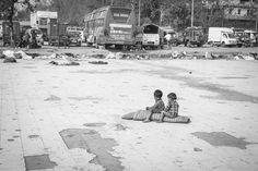 Children on the street, Old Delhi, India (2016)