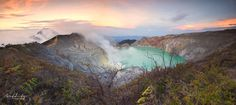 Panorama of Ijen by art-ditz photography on 500px