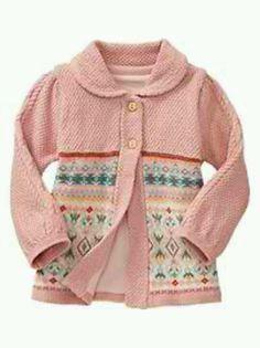 Baby gap knit fair isle sweater