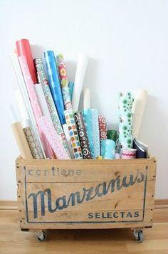 20 ideas para organizar tu rincón de manualidades - Guía de MANUALIDADES