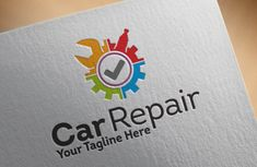 Car Repair Logo by Redvy Creative on Creative Market