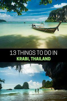 13 ADVENTUROUS THINGS TO DO IN AO NANG, KRABI - THAILAND