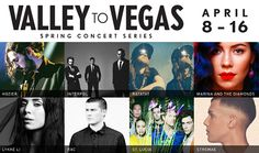 Join us for the #ValleyToVegas Spring Concert Series April 8 - 16 with 8 shows spanning 2 venues, #BLVDPool and #TheChelsea. Tickets available at cosmopolitanlasvegas.com. #music #concert #Vegas