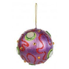 Nicole™ Crafts Paper Mache Ball Ornament