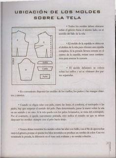 modelist kitapları: Miguel Angel Cejas - confección y diseño de ropa Miguel Angel, Mccalls Patterns, Sewing Patterns, Modelista, Couture, Embroidery Designs, Singer, Album, Tips