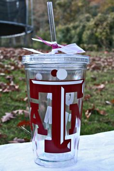 I just posted this #Texas A & M #tumbler on my #Etsy shop.