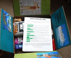"""Great care package idea for your deployed loved one: """"Motivation in a Box"""""""