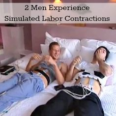 Two Men Get a Glimpse Into What Childbirth Feels Like [Video]
