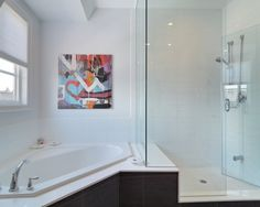 Corner Bathtub Design, Pictures, Remodel, Decor and Ideas