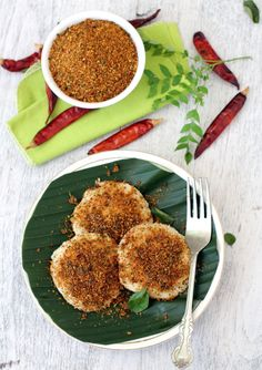Nalla Karam Podi, a typical Andhra style preparation similar to gun powder.Tamarind, garlic, red chilis & urad dal are key players of this tasty tangy podi.