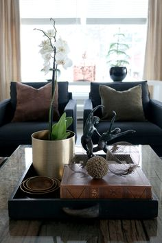 Anette Willemine - Page 13 of 241 - Brown And Grey, Table Decorations, Contemporary, Living Room, Interior, Brass, Furniture, Home Decor, Decoration Home