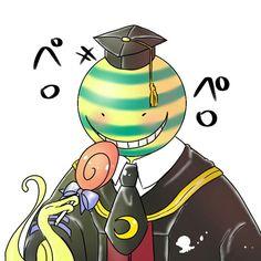 Koro-Sensei (with Lollipop!) from Ansatsu Kyoushitsu/Assassination Classroom