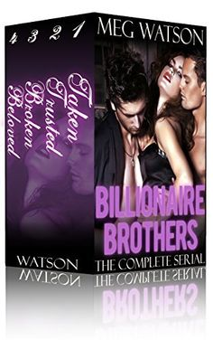 146 best books images on pinterest books to read libros and book billionaire brothers complete serial box set billionaire menage romance serial bundle http fandeluxe Images