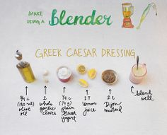 Greek Caser Dressing