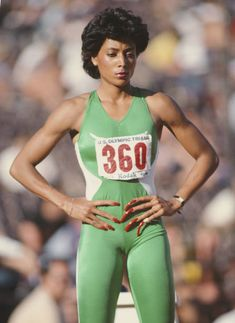 Flo Jo, Florence Griffith Joyner, 1988 Olympics, Olympic Trials, Workout Posters, Fitness Posters, Body Training, Olympic Athletes, Runners World