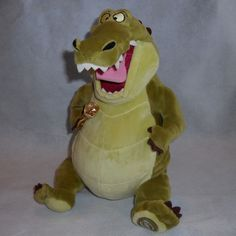 "Princess and the Frog Louis Alligator 13"" Plush Stuffed Animal Disney Exclusive #Disney"