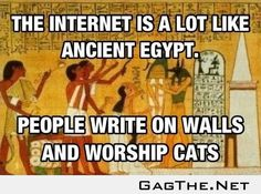 The Internet Is A Lot Like...