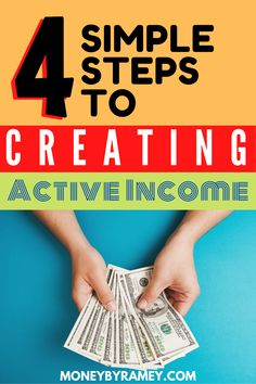 Grow your income higher through building active income sources. Get new skills and ideas from industry experts to earn more active income today! Money Tips, Money Saving Tips, Managing Money, Money Hacks, Financial Goals, Financial Planning, Finance Tips, Finance Blog, Budgeting Money