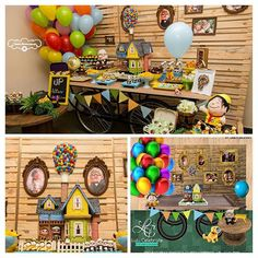 Iconosquare – Instagram webviewer Boys First Birthday Party Ideas, 1st Boy Birthday, Birthday Party Themes, Boy Baby Shower Themes, Baby Shower Balloons, Up Pixar, Wedding Scrapbook Pages, Calendar Pictures, Disney Inspired Wedding