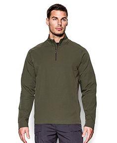 Under Armour Men's ColdGear® Infrared Tactical ¼ Zip Medium Marine OD Green Under Armour Coldgear - 91% nylon, 9% elastane, made in the Philippines