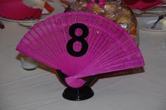 fan table number - Google Search