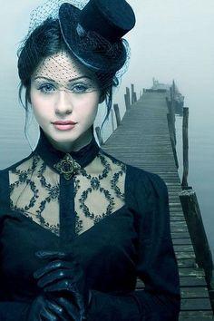 gothic photo shoot ideas on Pinterest