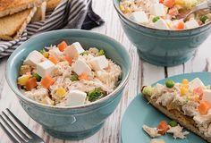 Ensalada rusa Mexican Food Recipes, Ethnic Recipes, 20 Min, Potato Salad, Salads, Picnic, Dressings, Montessori, Salad Toppings