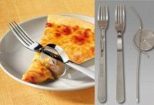 Pizza cuter fork