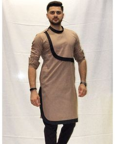 Native wear designs for Nigerian men is part of Boys kurta design - African Shirts For Men, African Dresses Men, African Attire For Men, African Clothing For Men, Mens Clothing Styles, Mens Kurta Designs, Latest Kurta Designs, Kurta Pajama Men, Kurta Men